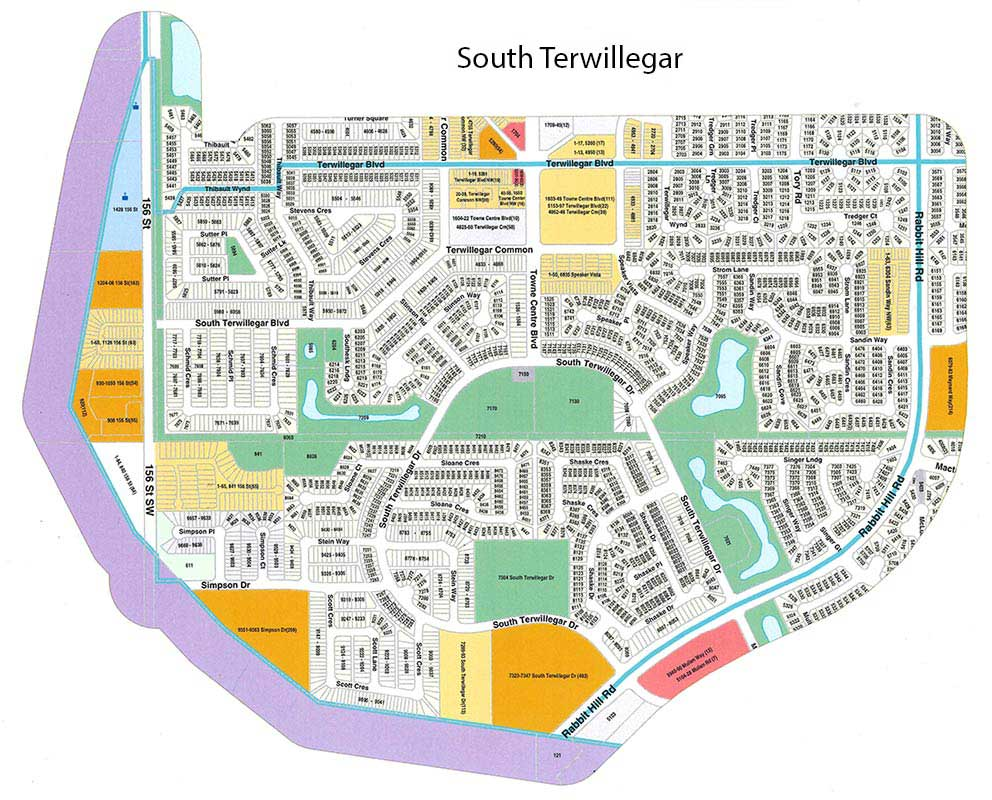 south terwillegar map