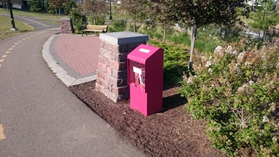 Additional Free Library Boxes Installed